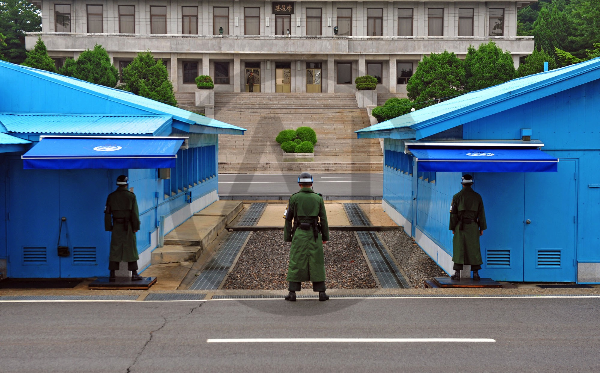 <i>Panmunjeom, DMZ (North & South Korea)<i>