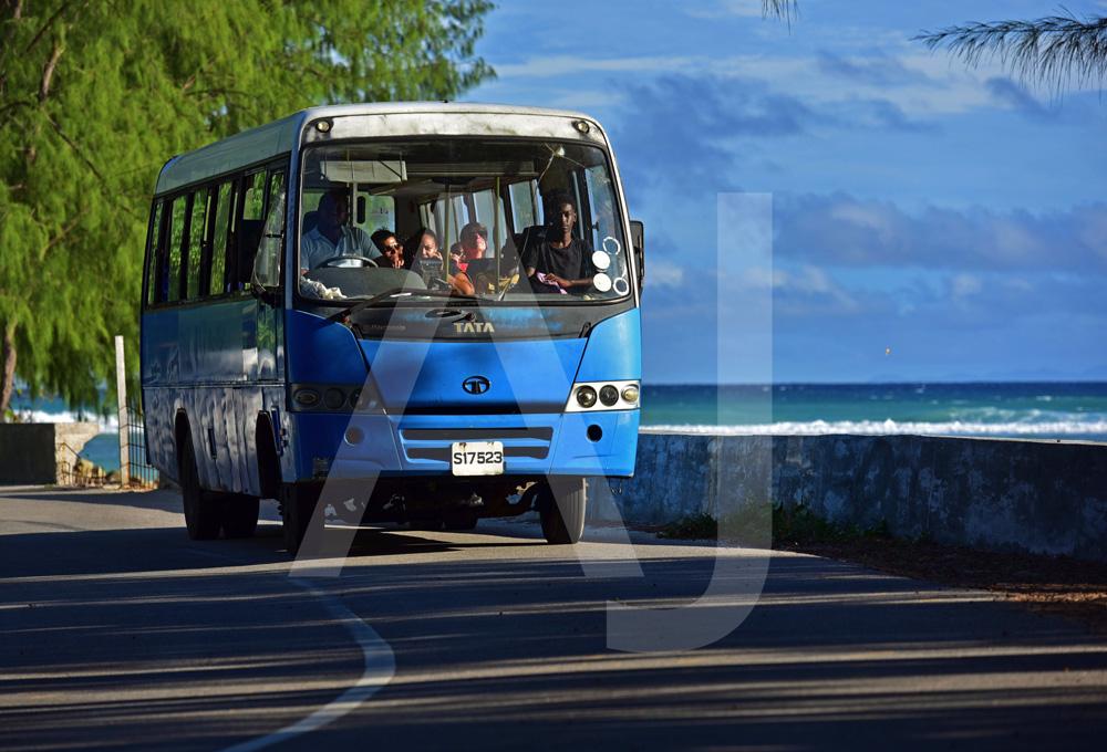 <i>Seychelles Public Transport Corperation, Praslin (Seychelles)<i>