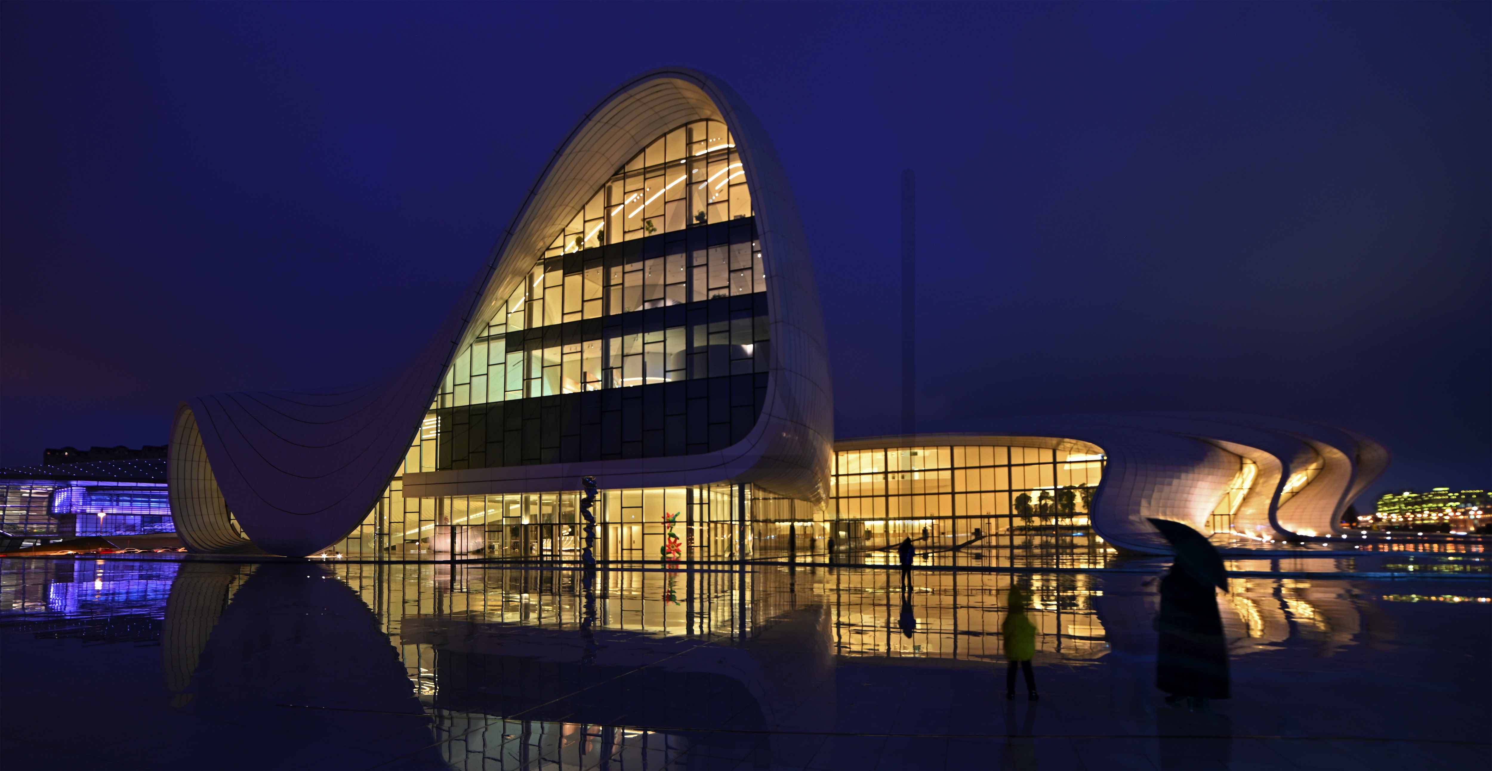 <i>Heydar Aliyev Center, Baku (Azerbaijan)<i>