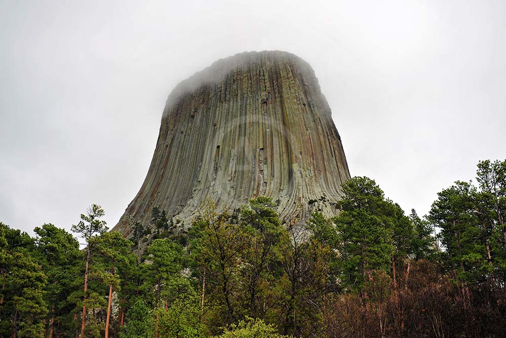 <i>Devils Tower, Wyoming<i>