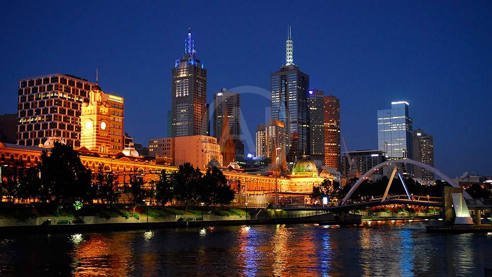 <i>Melbourne, Australien<i>