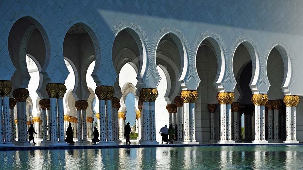 <i>Scheich Zayid Mosque, Abu Dhabi (UAE)<i>