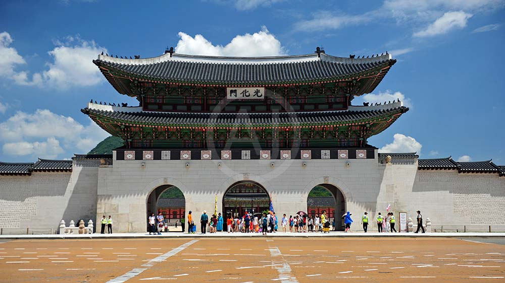 <i>Gyeongbokgung Palace, Seoul (South Korea)<i>
