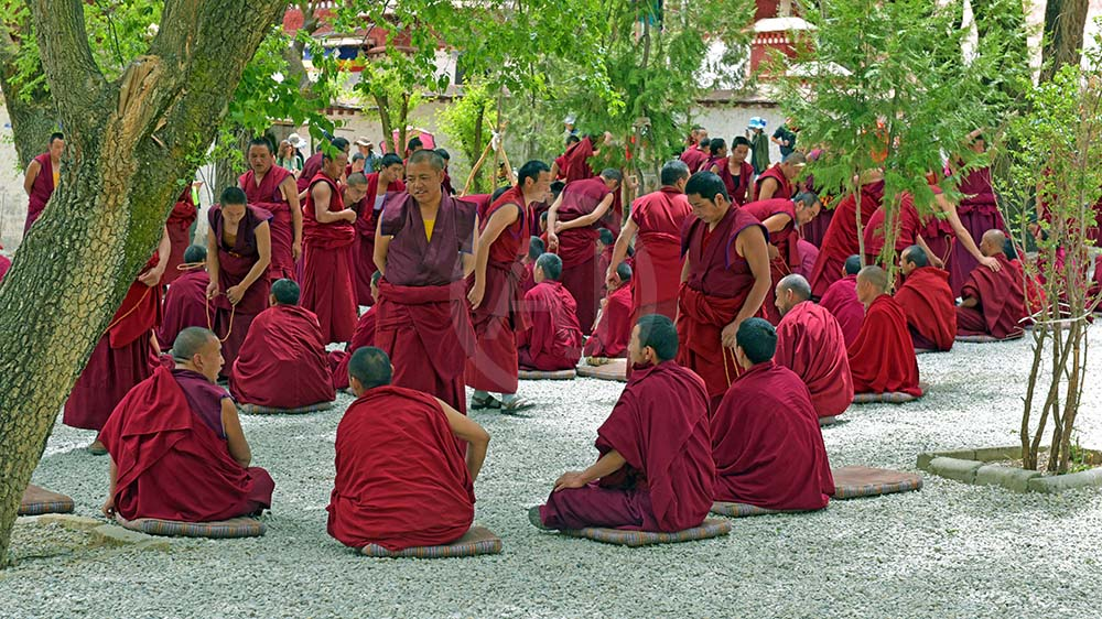 <i>Sera Monastery, Tibet (China)<i>